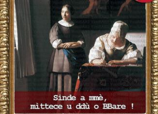 Donna che scrive una lettera di Jan Vermeer