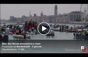 Bari | La processione a mare di San Nicola
