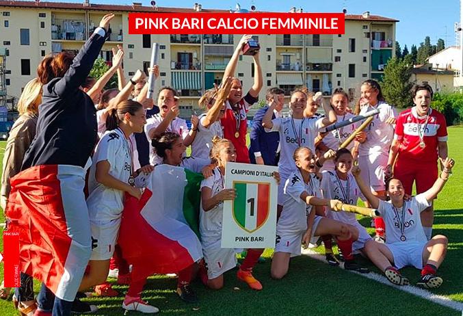 La Primavera della Pink Bari è campione d'Italia